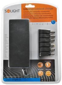 Solight DA33 Univerzální 90W pro notebooky, 6 koncovek, automat (268449)