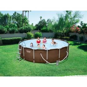 Bestway Steel Frame Pool 427 x 107 cm, 56647 + Doprava zdarma