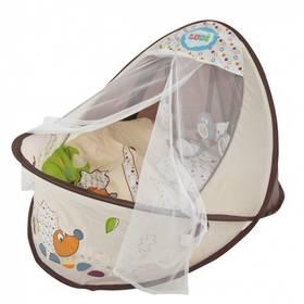 Ludi Nature - hnízdo pro miminko hnědá/béžová