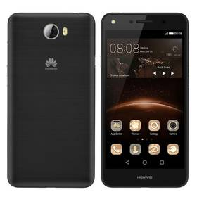 Huawei Y5 II Dual Sim (SP-Y5IIDSBOM) černý + Voucher na skin Skinzone pro Mobil CZ v hodnotě 399 Kč jako dárek+ Software F-Secure SAFE 6 měsíců pro 3 zařízení v hodnotě 999 Kč jako dárek + Doprava zdarma