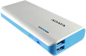 A-Data PT100 10000mAh (APT100-10000M-5V-CBLWH) bílá/modrá