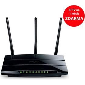TP-Link TD-W9980B + IP TV na 1 měsíc ZDARMA (TD-W9980B) černý + Doprava zdarma