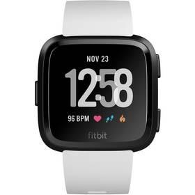 Fitbit Versa (NFC) - White Band / Black Case (FB505GMWT-EU) + Doprava zdarma