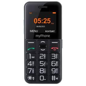 myPhone HALO EASY (TELMY10EASYBK) černý