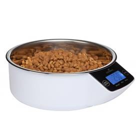 Eyenimal Pet bowl miska s váhou 1 litr biela