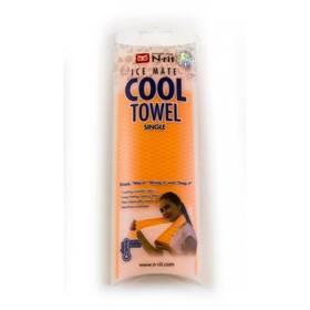 Cool Towel Single 100 x 20 cm, oranžová