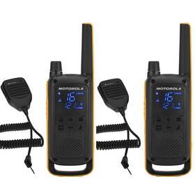 Motorola TLKR T82 Extreme RSM Pack (B8P00811YDZMAG) černý/žlutý