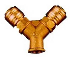 Rozdělovač tlakového vzduchu Einhell, se 2 rychlospojkami, R 3/8, vnitřní závit