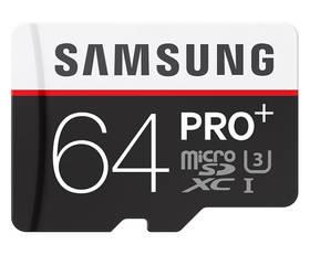 Samsung Micro SDXC PRO+ 64GB UHS-I U3 (95R/90W) + adapter (MB-MD64DA/EU)