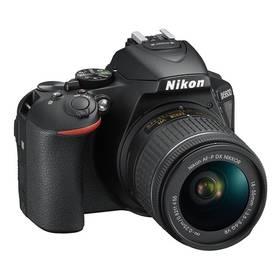 Nikon D5600 + 18-55 AF-P VR (VBA500K001) černý + Cashback 2600 Kč + Doprava zdarma