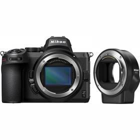 Nikon Z 5 + FTZ adapter černý