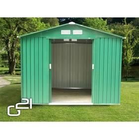 Záhradný domček G21 GAH 730 - 251 x 291 cm zelený