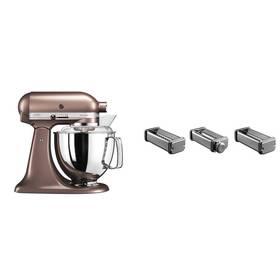 Set KitchenAid - kuchyňský robot 5KSM175PSEAP + KPRA strojek na těstoviny + Doprava zdarma