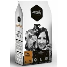 Amity premium dog Lamb & Rice 3kg