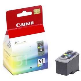 Canon CL-51C, 330 stran - originální (0618B001) červená/modrá/zelená + Doprava zdarma