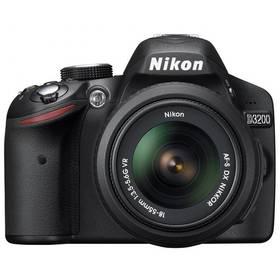 Digitální fotoaparát Nikon D3200 + 18-55 AF-S DX VR II černý