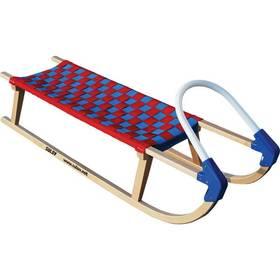 Sulov Lavina 110 cm červené/modré + Reflexní sada 2 SportTeam (pásek, přívěsek, samolepky) - zelené v hodnotě 58 Kč