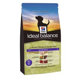 Hill's Ideal Balance Canine Mature Adult with Fresh Chicken & Brown Rice 2 kg