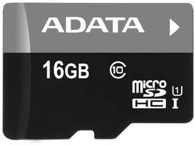 ADATA microSDHC karta 16GB UHS-I Class 10, Premier (AUSDH16GUICL10-R)