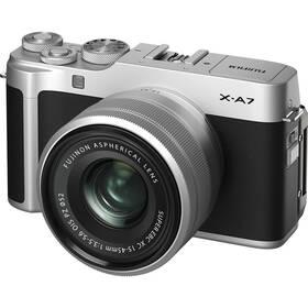 Fujifilm X-A7 + XC15-45 mm stříbrný