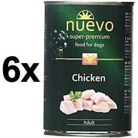 Nuevo Dog Adult kuřecí 6 x 400g