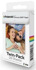 """Polaroid Zink Premium 2x3"""", 20 fotografií (POLZ2X320) bílý"""