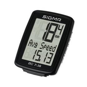 Sigma BC 7.16 černý + Doprava zdarma