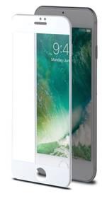 Celly 3D pro Apple iPhone 7/8 - bílé (3DGLASS800WH) bílé
