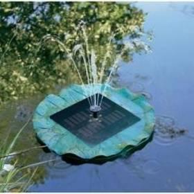 Ostrůvek solární s fontánou a osvětlením Solar Trend