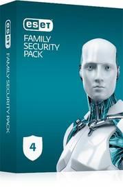 ESET Family Security Pack pre 4 zariadenia s predplatným na 18 mesiacov