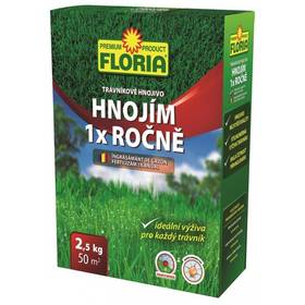 Agro Floria Hnojím 1x ročně 2,5 kg + Doprava zdarma