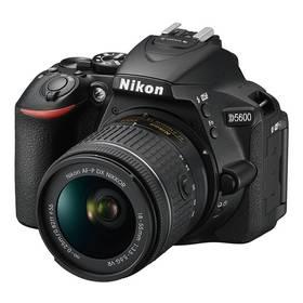 Nikon D5600 + 18-55 AF-P VR (VBA500K001) černý + Cashback 2500 Kč + Doprava zdarma