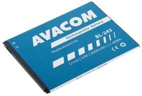 Baterie Avacom pro Lenovo A7000, Li-Ion 3,8V 3000mAh (náhrada BL243) (GSLE-BL243-3000)