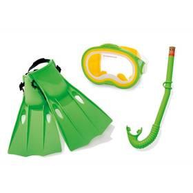 Potápěčská sada Intex, dětská - zelená