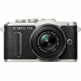 Olympus E-PL8 + 14-42 Kit (V205081BE000) čierny/strieborný