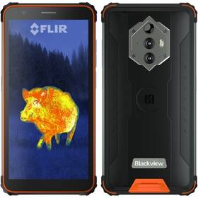 iGET Blackview GBV6600 Pro Thermo (84008058) oranžový