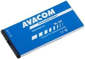 Baterie Avacom pro Nokia Lumia 630, 635, Li-Ion 3,7V 1500mAh (náhrada BL-5H) (GSNO-BL5H-S1500)