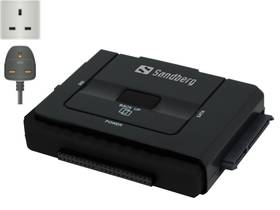 Sandberg USB 3.0 / multi HDD Link - UK (133-80) černý