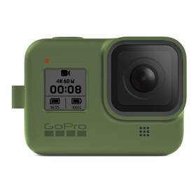 GoPro Sleeve + Lanyard (HERO8 Black) - zelený