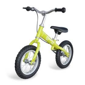 """Master Push - kolo 12"""" zelené + Reflexní sada 2 SportTeam (pásek, přívěsek, samolepky) - zelené v hodnotě 58 Kč"""