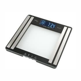 Osobná váha Gallet Olivet PEP 801 čierna/sklo