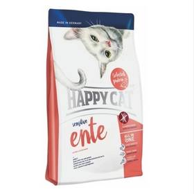 HAPPY CAT SENSITIVE Ente - Kachna 4 kg