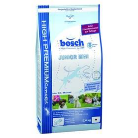 Bosch Junior Mini 15 kg, pro štěňata malých plemen + Antiparazitní obojek za zvýhodněnou cenu + Doprava zdarma