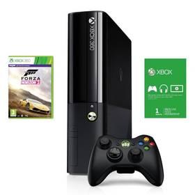 Microsoft Xbox 360 500GB + Forza Horizon 2 + 1m Xbox Live (3M4-00042) + Hra Microsoft Xbox 360 Minecraft v hodnotě 499 Kč+ Hra Microsoft Xbox 360 World of Tanks Combat ready starter pack v hodnotě 499 Kč + Doprava zdarma