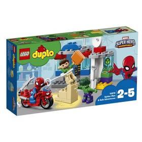 LEGO® DUPLO 10876 Dobrodružství Spider-Mana a Hulka + Doprava zdarma