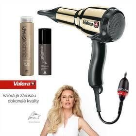 Valera Swiss Metal Master Light 584.01/I Ionic Tourmaline GOLD + Rotocord + kosmetika černý/zlatý