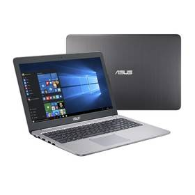 Asus K501UX-DM198T (K501UX-DM198T) šedý + Software Microsoft Office 2016 CZ pro domácnosti v hodnotě 2 499 KčSoftware F-Secure SAFE 6 měsíců pro 3 zařízení (zdarma) + Doprava zdarma