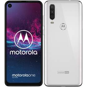 Motorola One Action (PAFY0006PL) biely