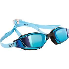 Michael Phelps Aqua Sphere Xceed blue titanium mirrored černé/modré + Doprava zdarma