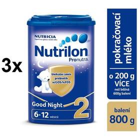 Nutrilon 2 Pronutra Good Night, 800g x 3ks + Doprava zdarma
